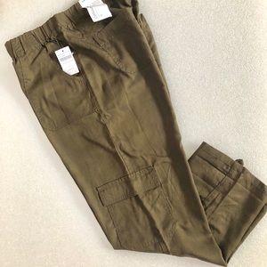 Pants Coldwater Creek Womens Pants 20 20w Khaki Tan Lt Brown Linen Natural Fit Clothing, Shoes & Accessories